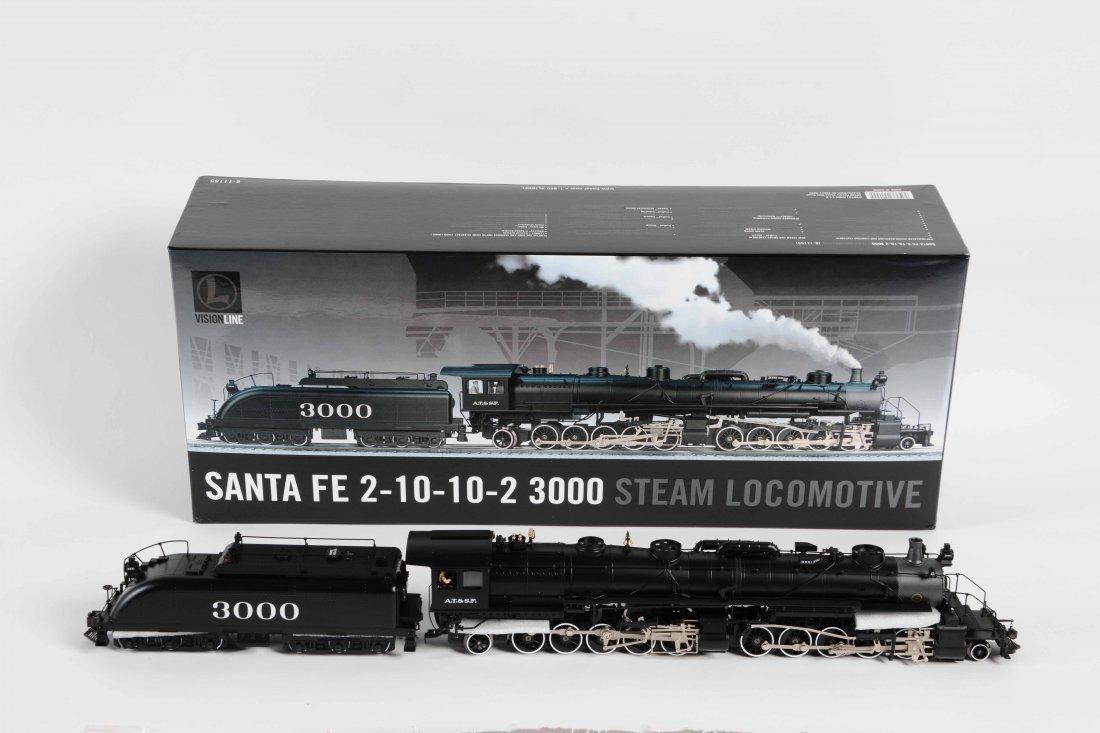 Lionel 2-10-10-2 Steam Locomotive in Box.