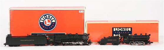 Lot of 2: Lionel Locomotives & Tenders in Boxes.