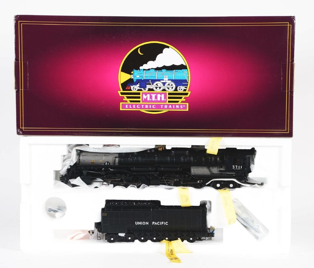 MTH 4-6-6-4 Challenger Steam Engine In Box.