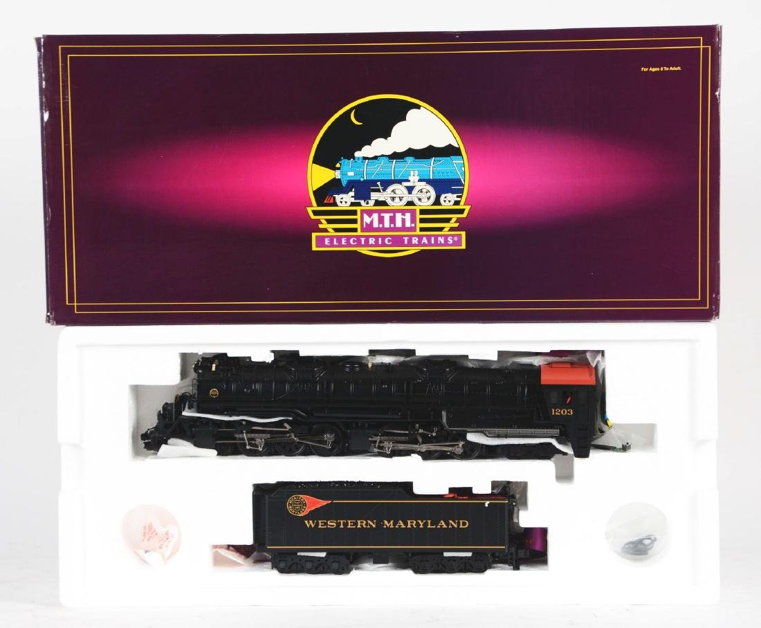 MTH Challenger Steam Locomotive in Box.