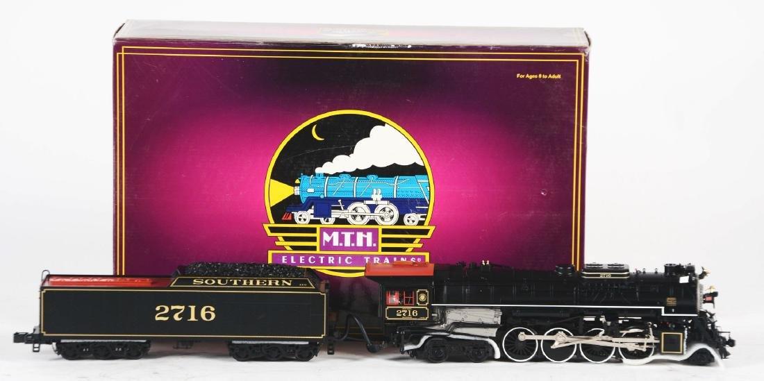 MTH Kanawha Steam Locomotive in Box.
