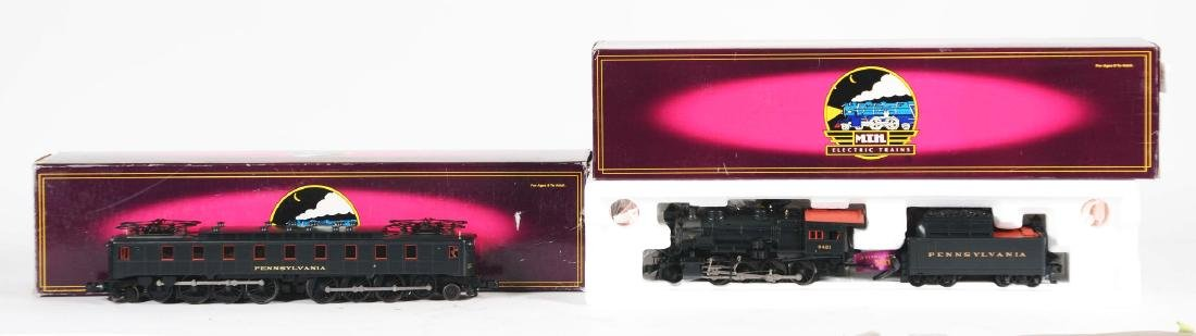 Lot Of 2: MTH Engines In Boxes.
