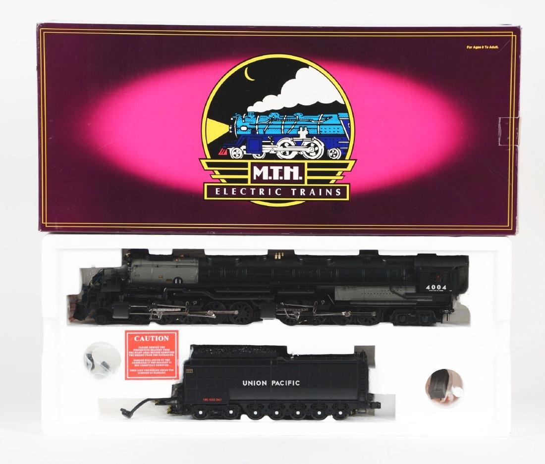 MTH Big Boy Steam Locomotive and Tender In Box.