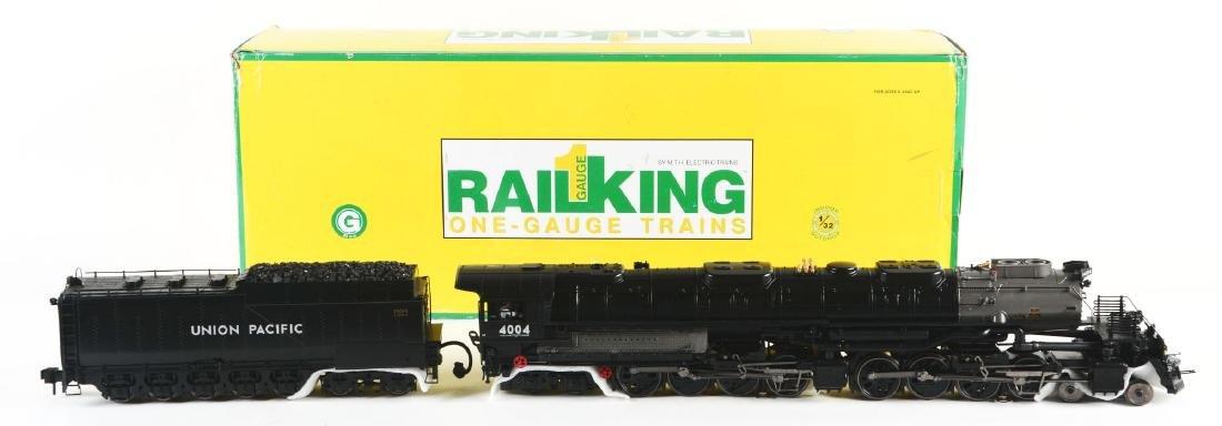 MTH Rail King Big Boy Steam Engine In Box.
