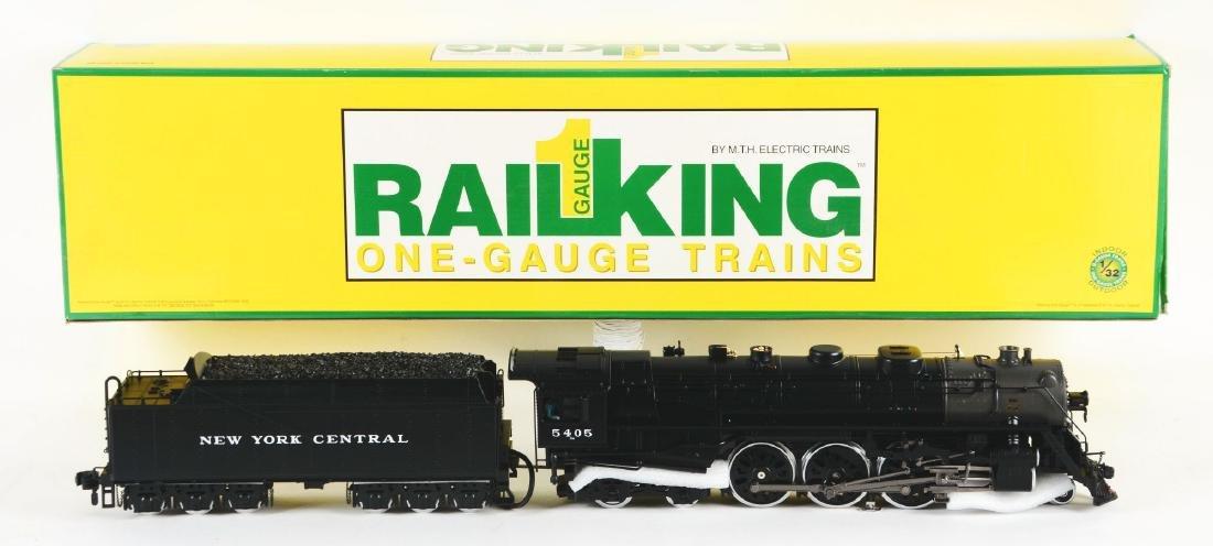 MTH RailKing Hudson Steam Engine In Box.
