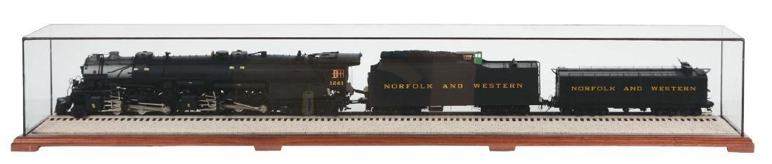 Norfolk & Western 2662 Steam Locomotive With Water