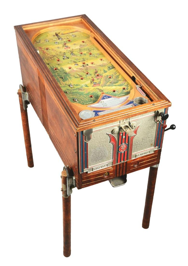 **5¢ Jennings Sportsman Pinball Machine.