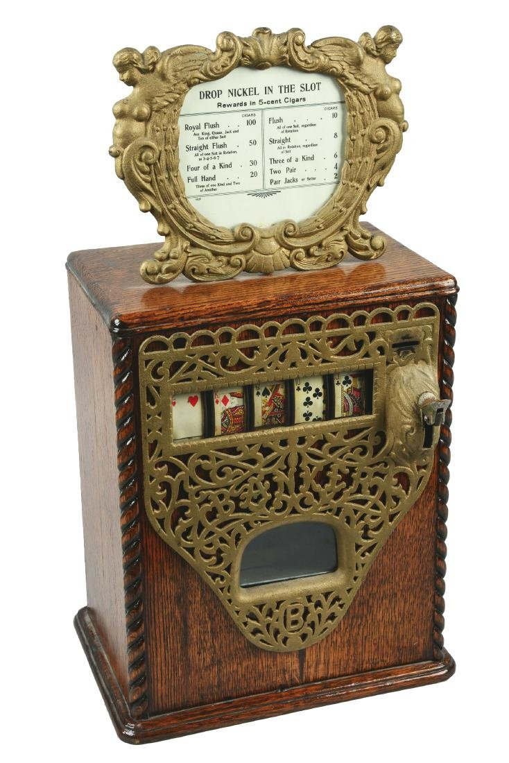**5¢ Caille Bros. Banker Trade Stimulator.