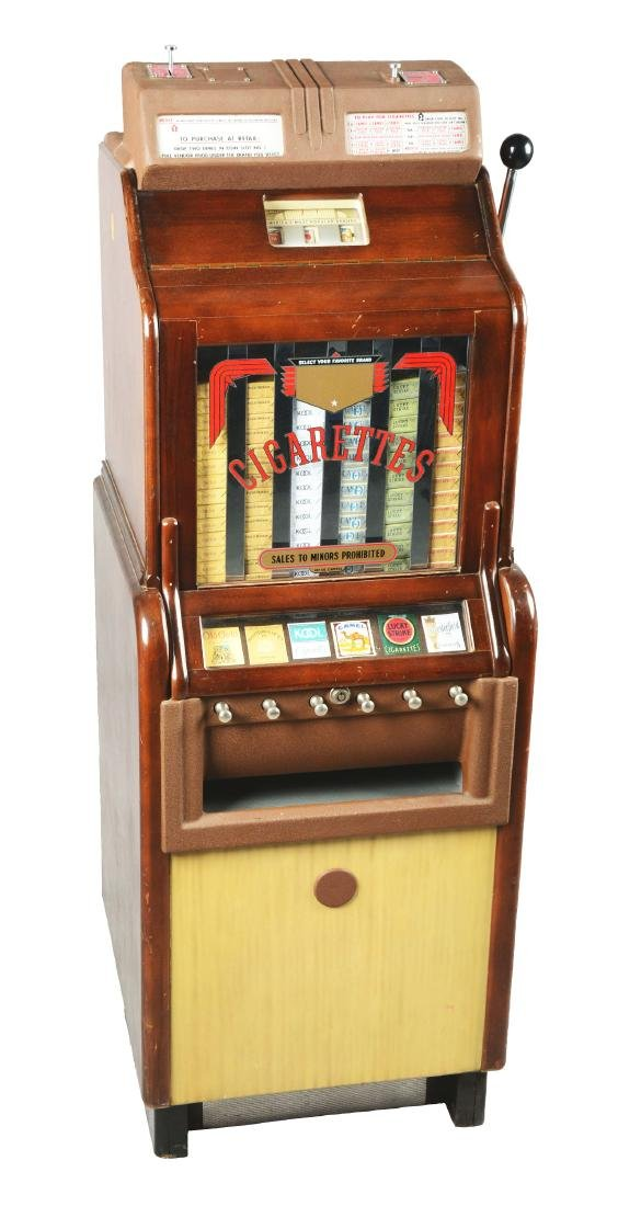 **Multi-Coin O.D. Jennings Ciga-Rola Slot Machine.