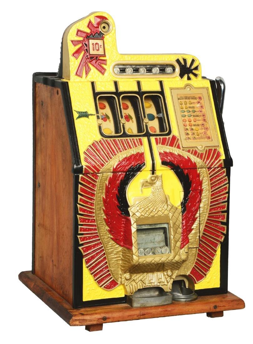 **10¢ Mills War Eagle Slot Machine.