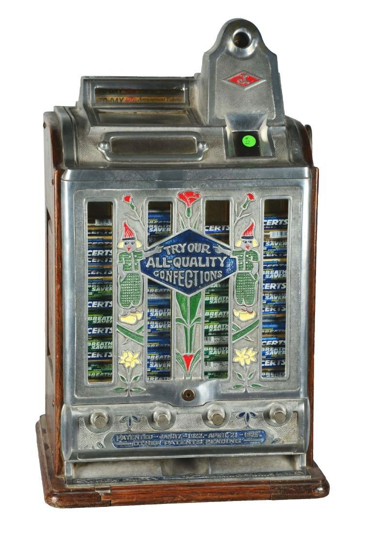 **5¢ O.D. Jennings Today Vendor Slot Machine.