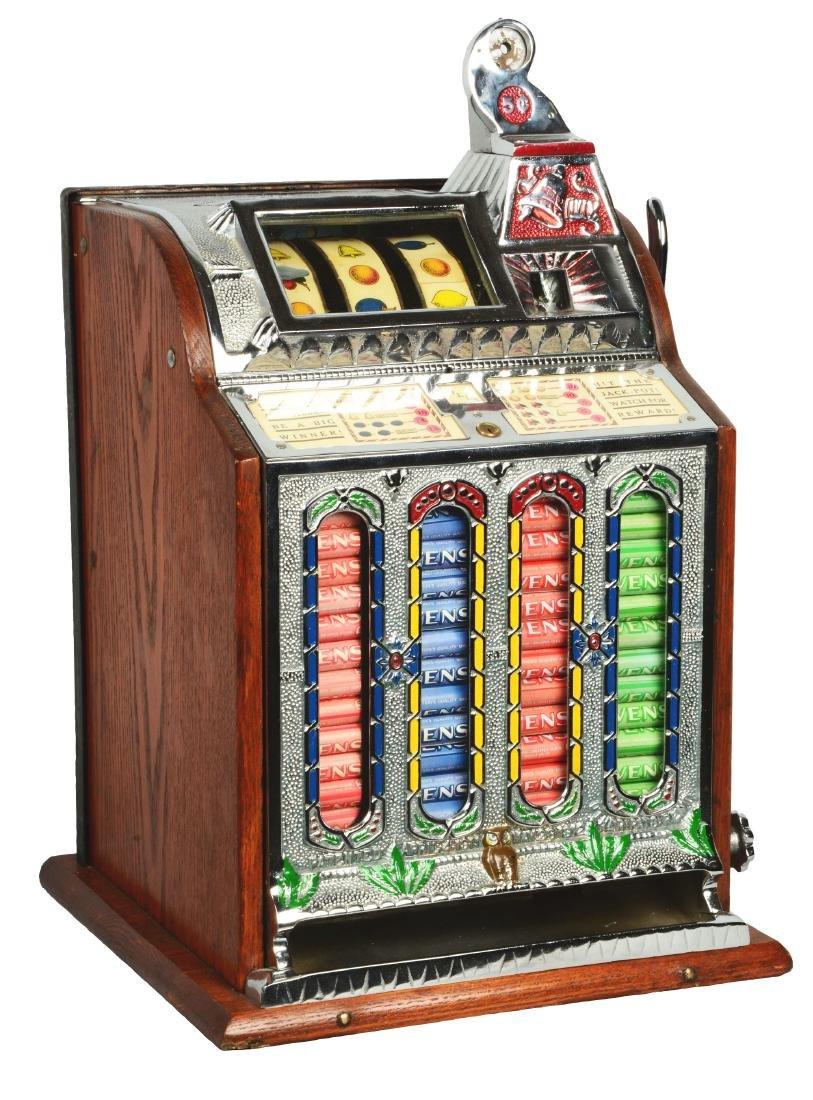 **5¢ Mills Novelty F.O.K. Slot Machine.