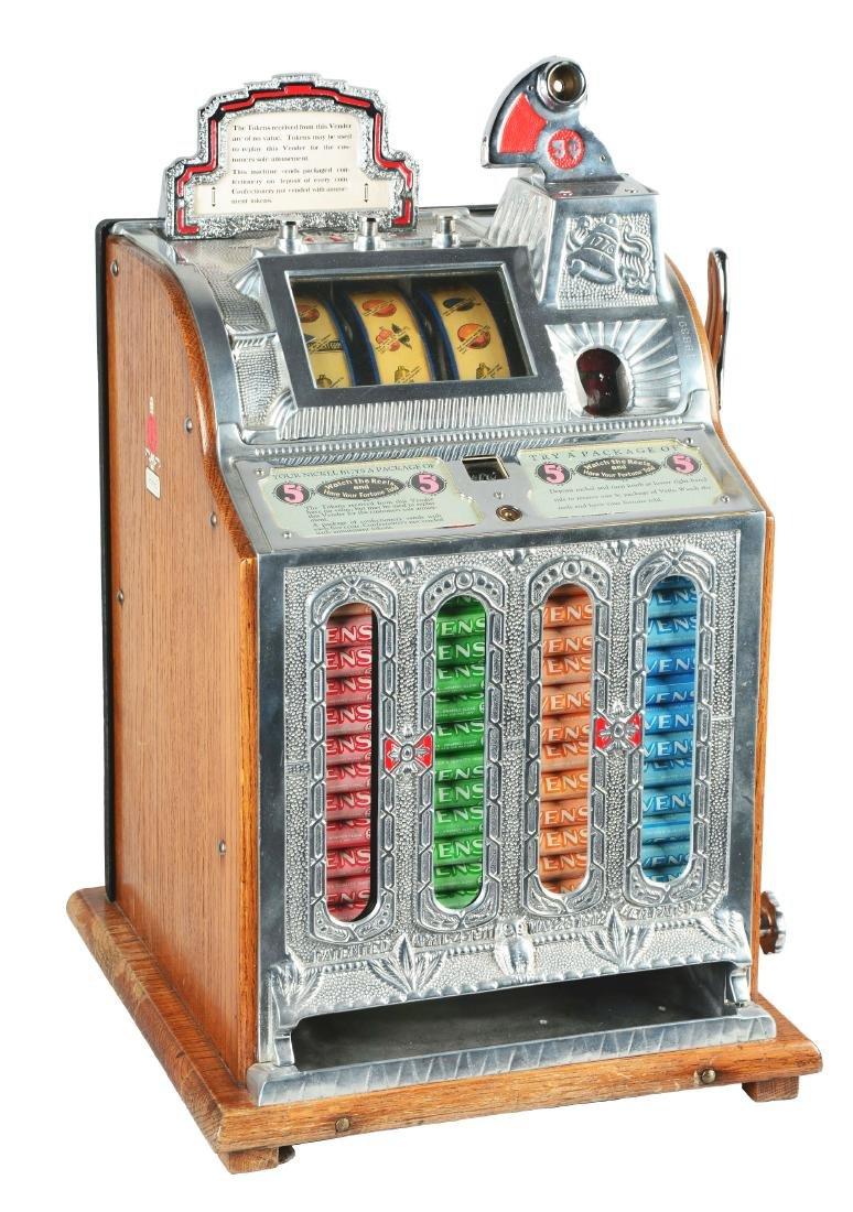 **5¢ Mills Front OK Mint Vender Slot Machine.