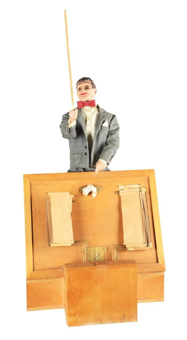 Page Turner Conductor Automaton.