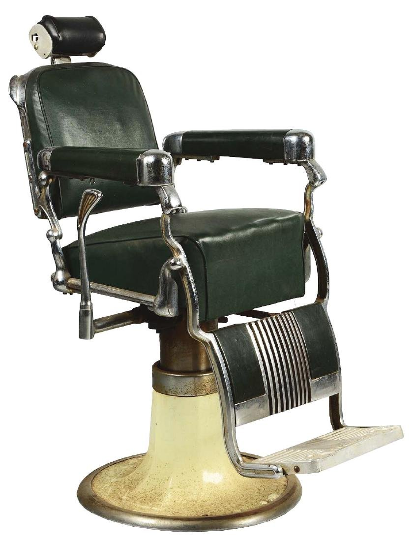 Vintage Belmont Barber Chair.