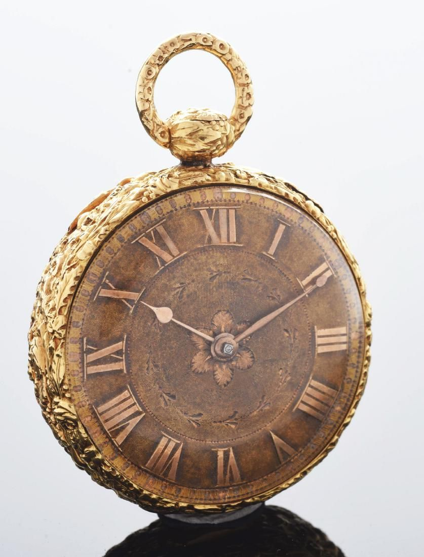 18K Gold Tobias of Liverpool Fusee Pocket Watch.
