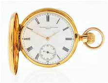 Vacheron & Constantin 18K Gold H/C Pocket Watch.