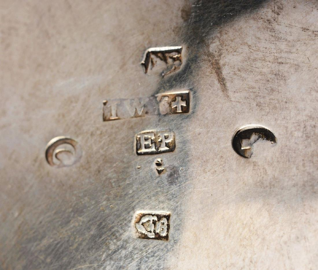 Irish Silver Assembled Four Piece Tea  Set. - 4