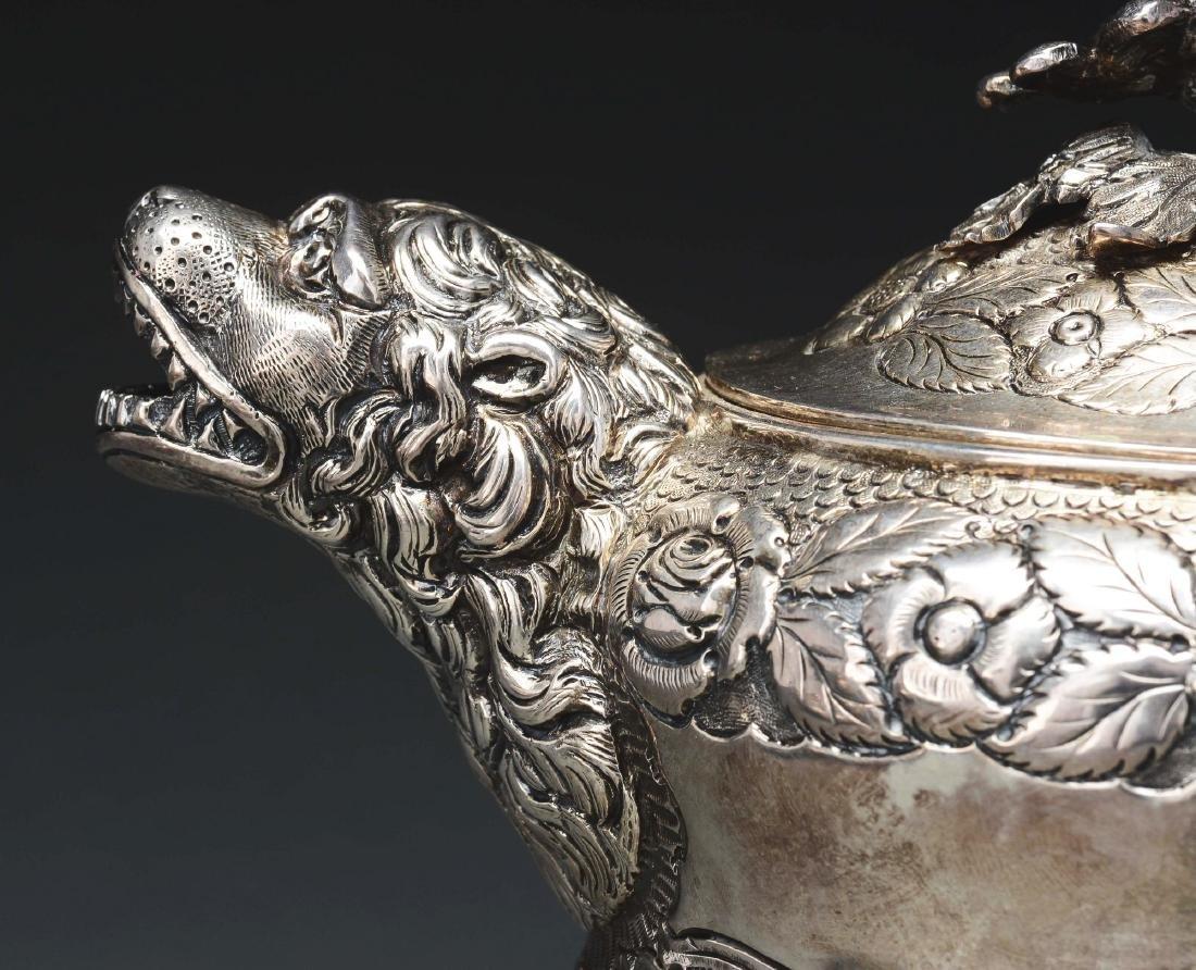 Irish Silver Assembled Four Piece Tea  Set. - 6