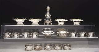 Group of Tiffany Sterling Small Items