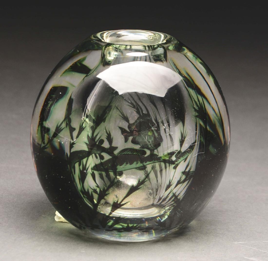 Orrefors Aquatic Vase.