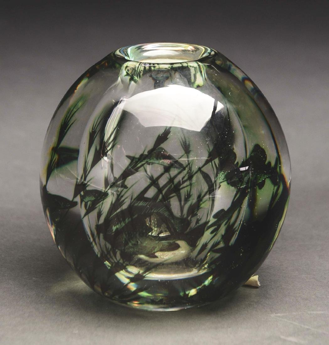Orrefors Aquatic Vase. - 2