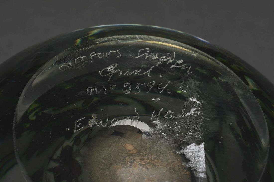 Orrefors Aquatic Vase. - 3