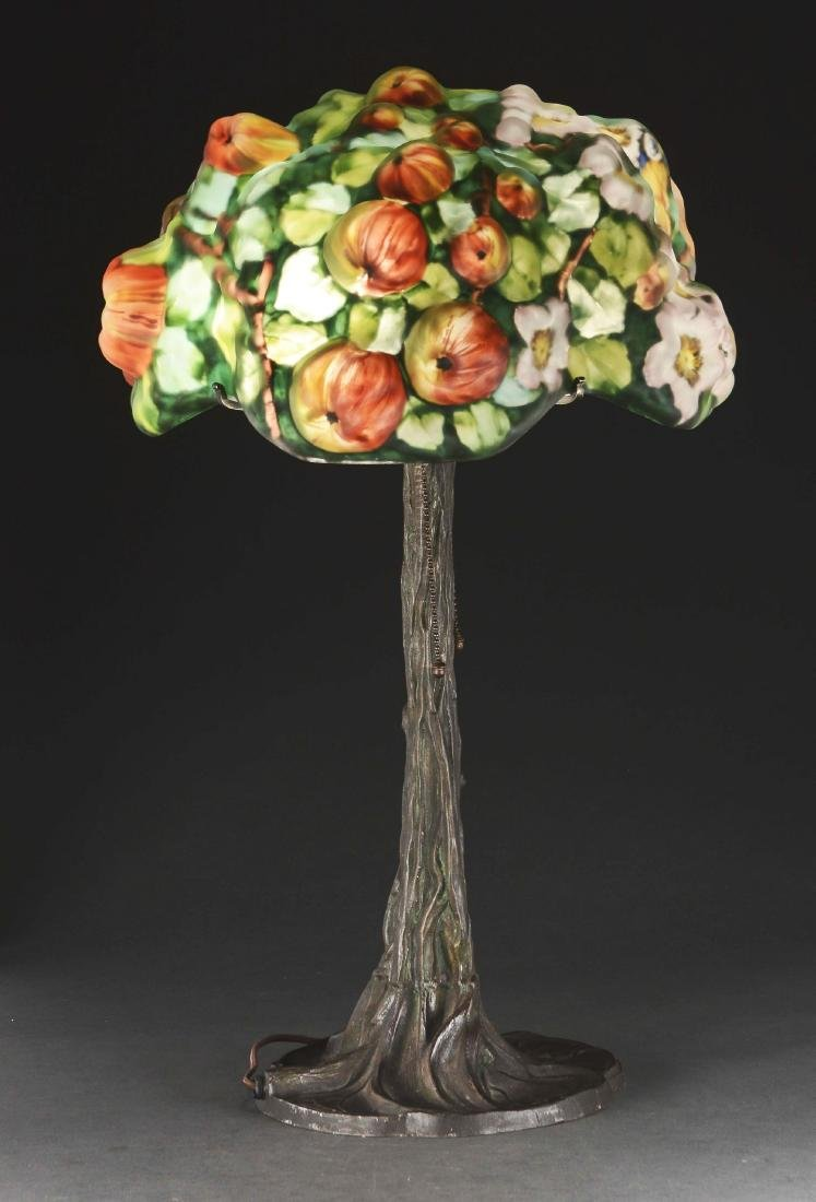 Pairpoint Puffy Apple Tree Table Lamp. - 3