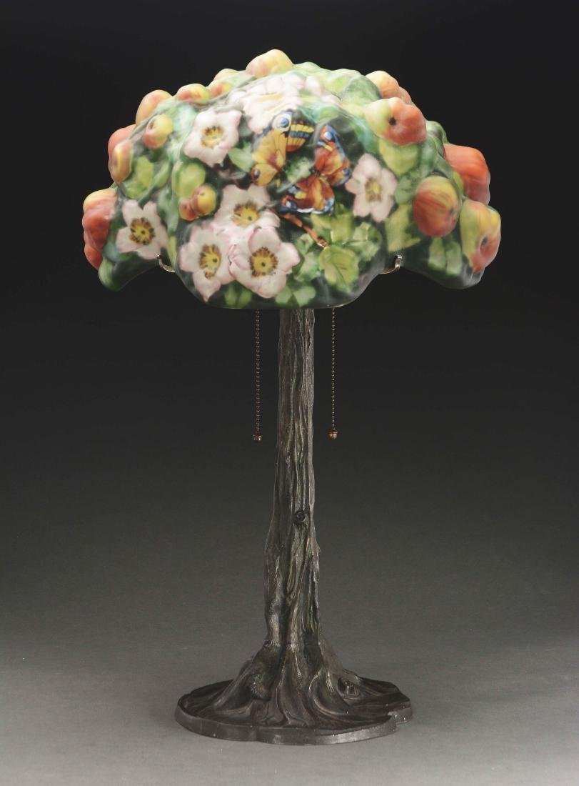 Pairpoint Puffy Apple Tree Table Lamp. - 5