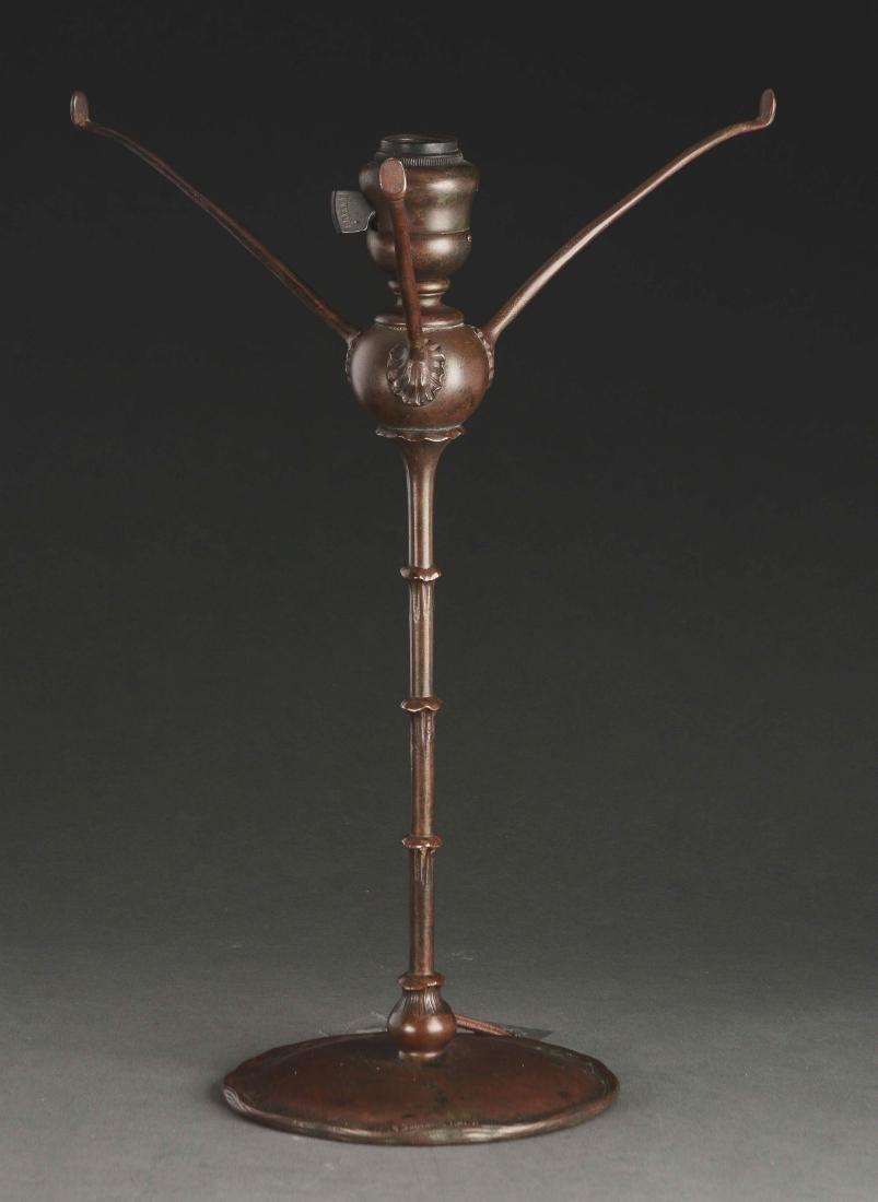 Tiffany Studios Fishscale Overlay Table Lamp. - 3