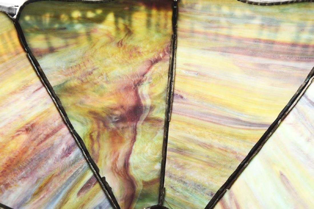 Handel Metal Overlay Table Lamp. - 4