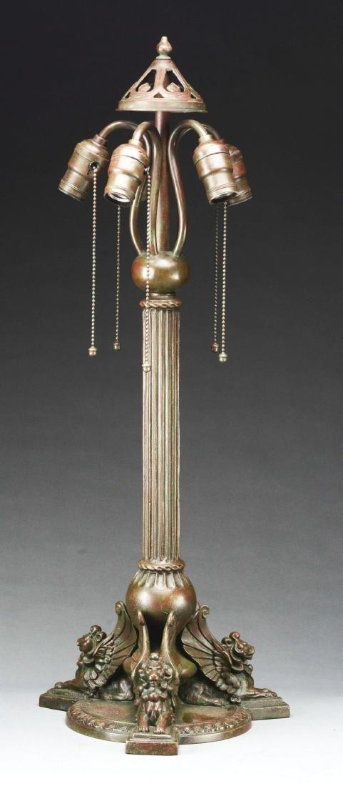 Handel Griffin Table Lamp Base.