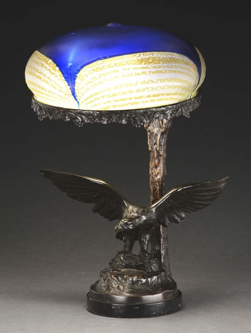 Austrian Figural Table Lamp.