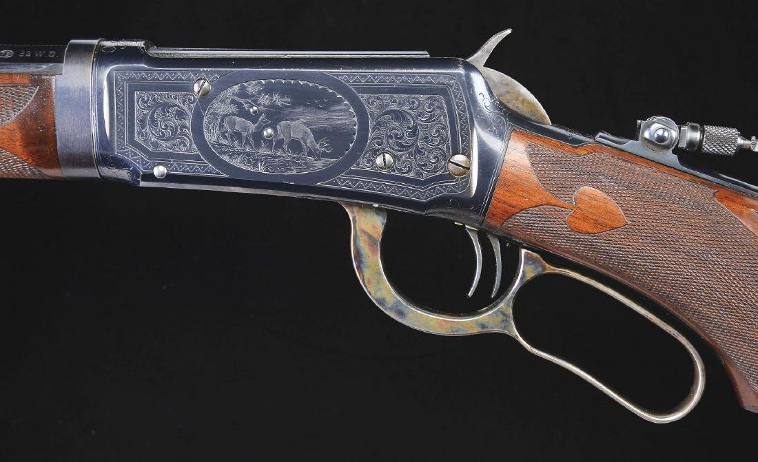 (C) Magnificent Winchester Model 1894 Factory Engraved - 4