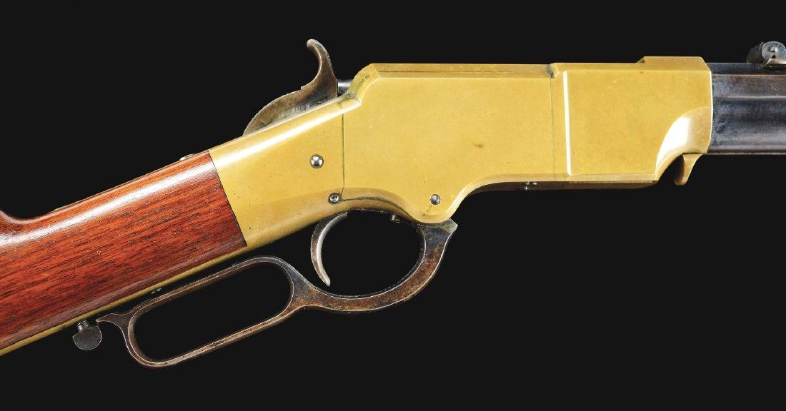 (A) Sublime New HAven Arms Model 1860 Henry Rifle (Last - 4