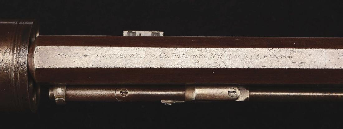 (A) Fine Paterson/Colt No. 2 Ring Lever Revolving - 6