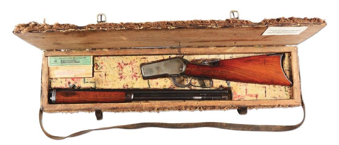(A) Fantastic Buffalo Hunters Winchester 1886 Takedown