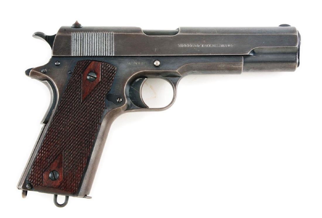 (C) Colt Model 1911 U.S. Navy Semi-Automatic Pistol