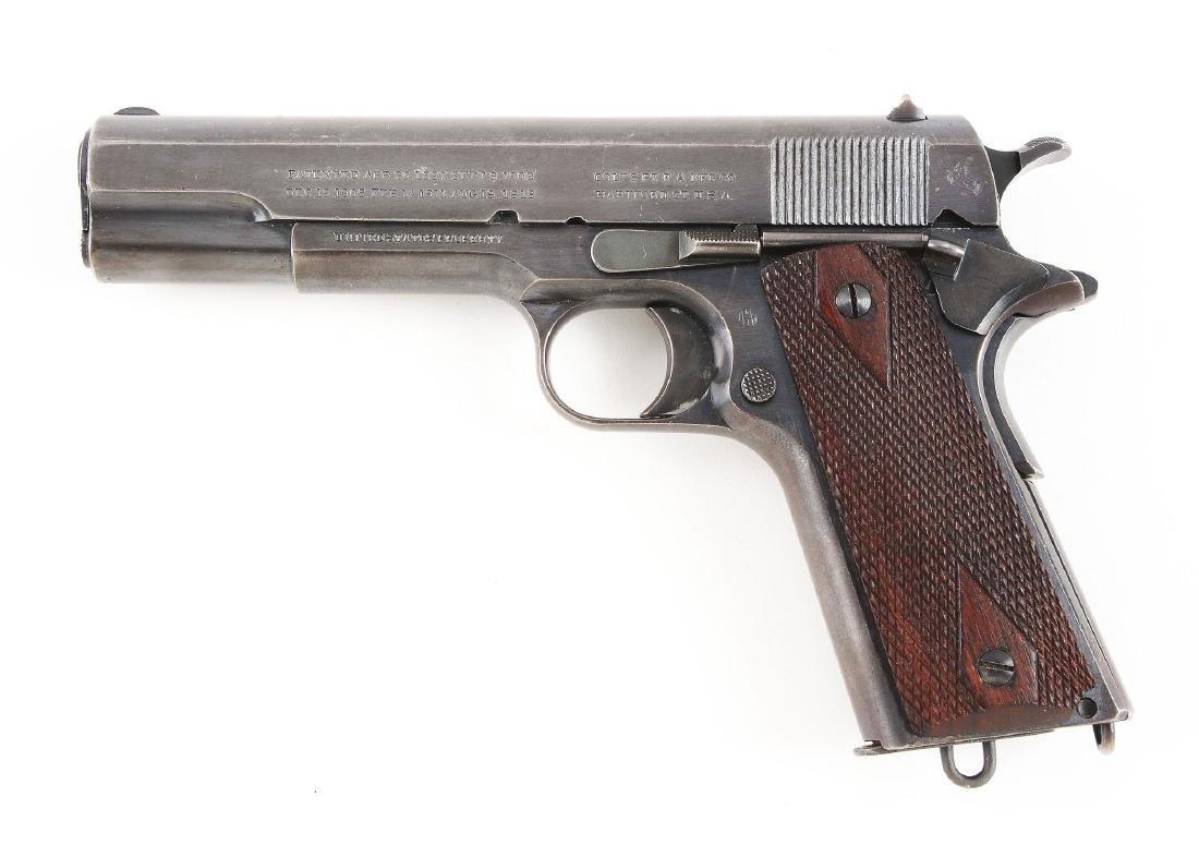 (C) Colt Model 1911 U.S. Navy Semi-Automatic Pistol - 2