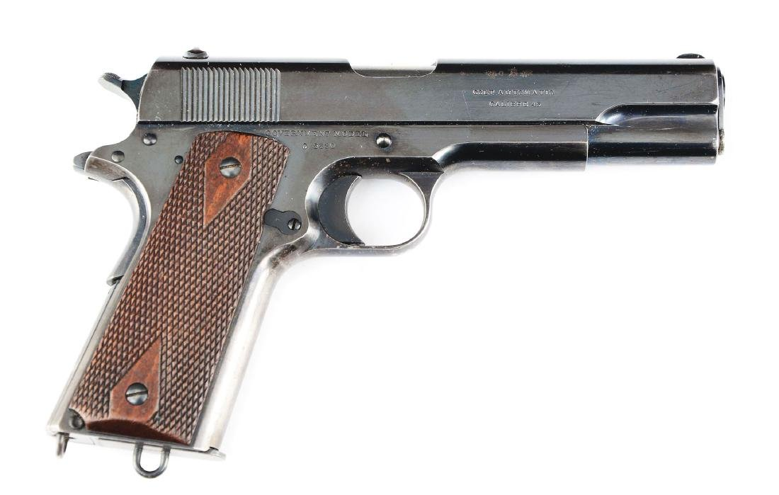 (C) High Polish Colt Model 1911 Commercial Model