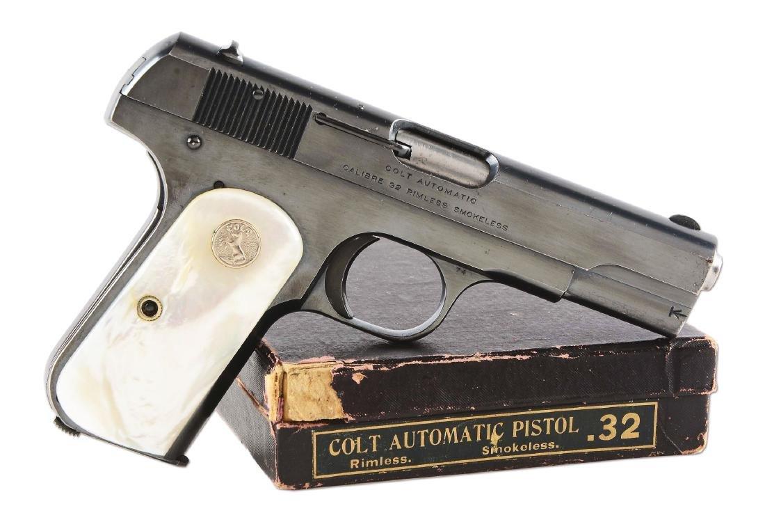 (C) Boxed Colt Model 1903 Pistol (1920).