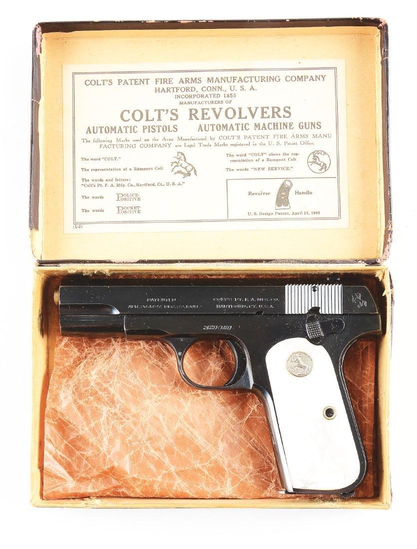 (C) Boxed Colt Model 1903 Pistol (1920). - 4