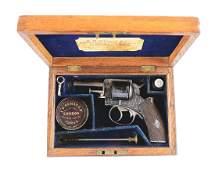 (A) Cased & Dealer Marked London Webley & Scott Pocket