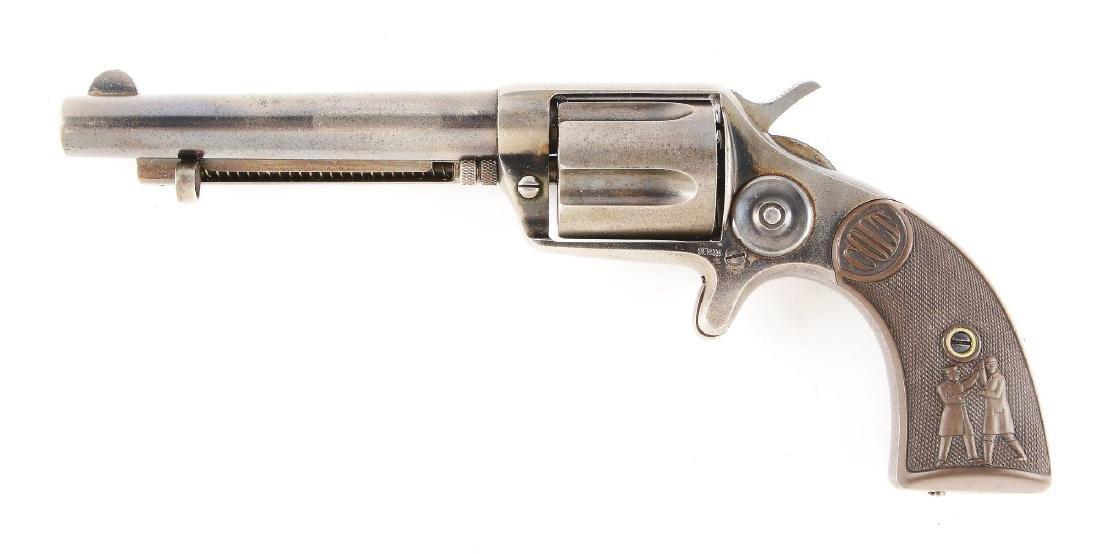 (A) Colt Cop-&-Thug New Police .38 Spur Trigger - 2