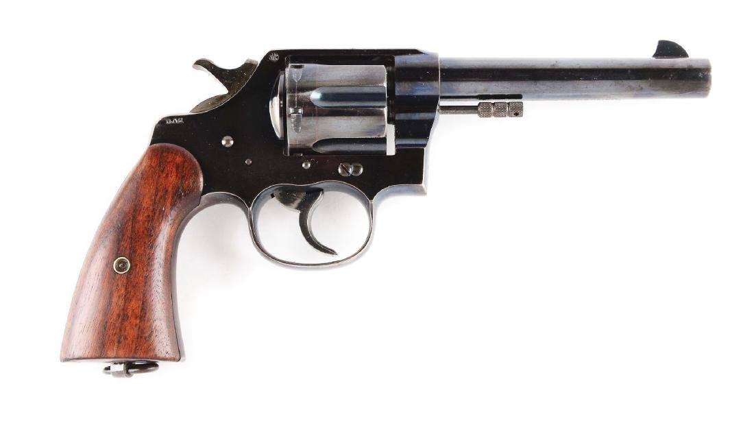 (C) Colt Model 1909 US Army Made in 1911, .45 Revolver.
