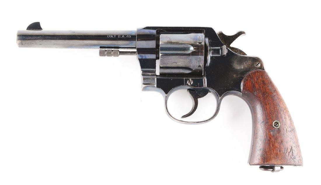 (C) Colt Model 1909 US Army Made in 1911, .45 Revolver. - 2