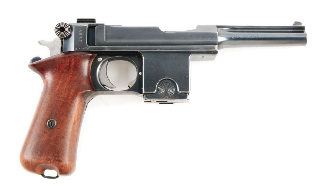 (C) Pieper Bergmann-Bayard Semi-Automatic Pistol.