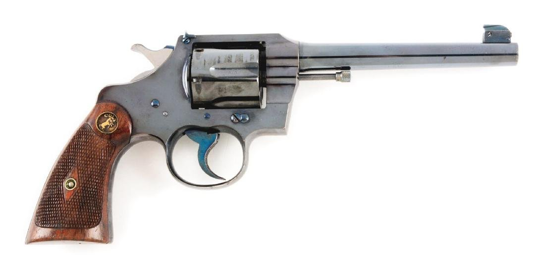 (C) Near New High Polish Colt Officers Model Target