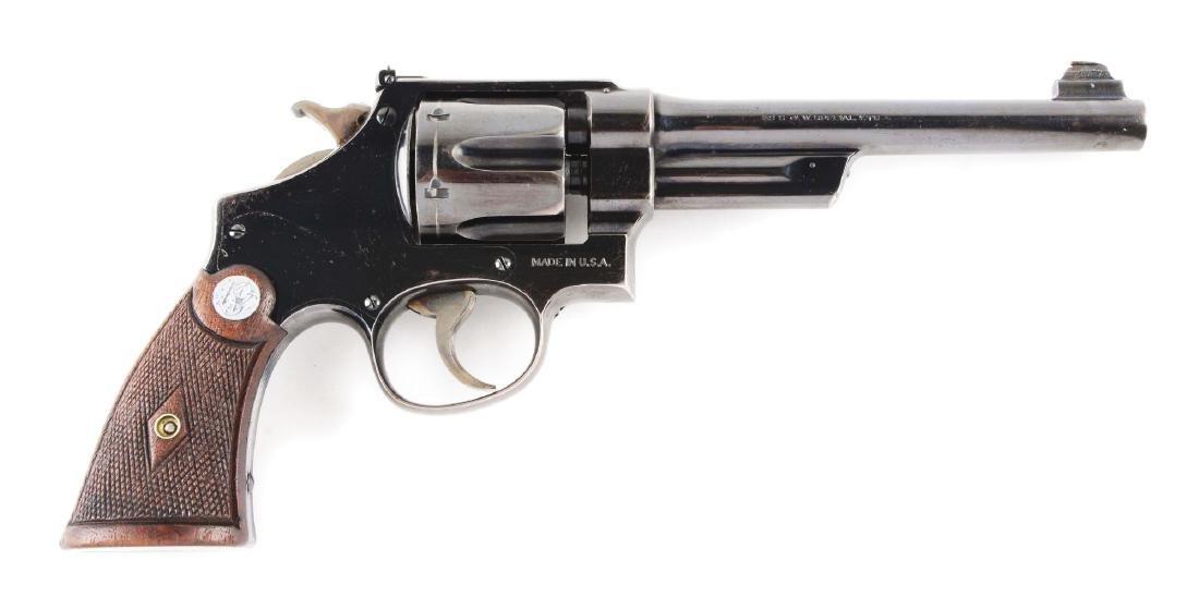 (C) Pre-War Smith & Wesson .38-44 Outdoorsman Double
