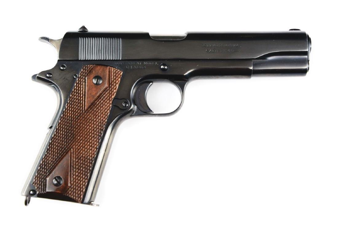(C) Colt Model 1911 Commercial Semi-Automatic Pistol